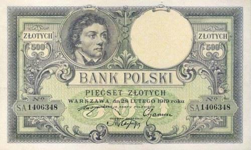 500 złotych 1919 – jak szybko rozróżnić odmiany a i b?