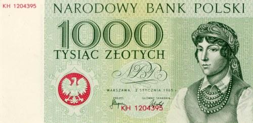 Miasta Polskie – nieobiegowa seria banknotów polskich 1964-1965