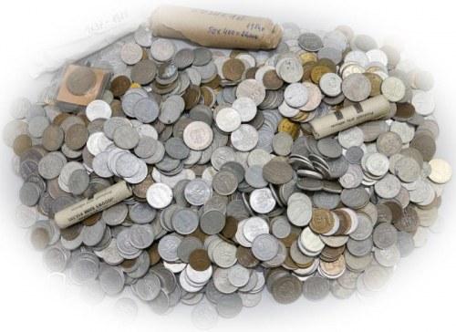 Mieszanka wagowa monet PRL