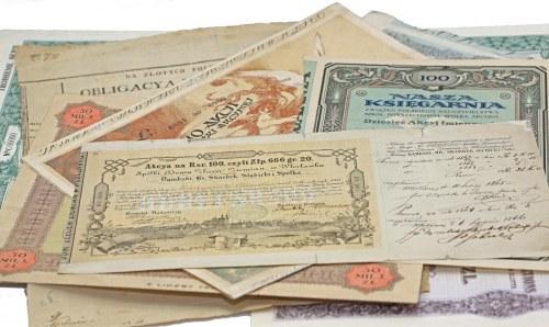Stare papiery wartościowe również dziś mogą być dużo warte