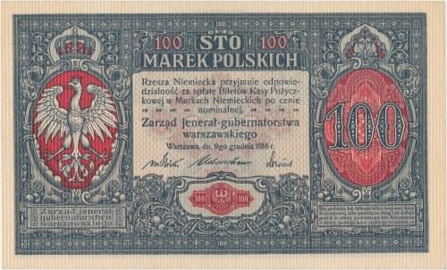 Jenerał 100 mkp 1916 – numeracja 7-cyfrowa
