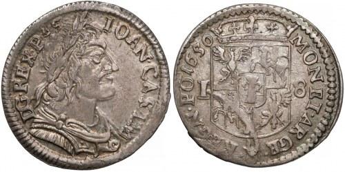 Ort Wschowa 1650 – mennica wschowska była najpłodniejszą mennicą pod względem produkcji drobnej monety srebrnej w roku wydania nowej ordynacji