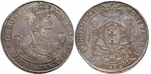 Dwutalar Gdańsk 1650 oferowany na 9 aukcji GNDM (poz.47)