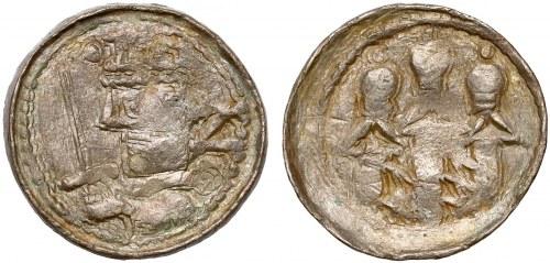 Denar królewski – odmiana z literą Z
