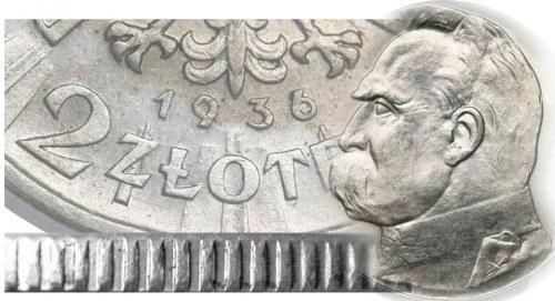 Jak rozpoznać fałszywe 2 zł 1936 Piłsudski