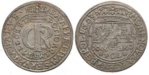 Tymf – polska złotówka z lat 1663-1666