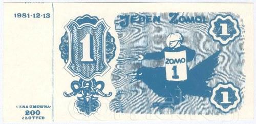 Banknoty solidarnościowe – propagandowe cegiełki opozycji lat 80-tych
