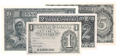 Nieznane projekty banknotów emigracyjnych 1939 roku