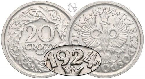 20 groszy 1924 – unikalny rocznik pospolitej monety…Marcin Żmudzin