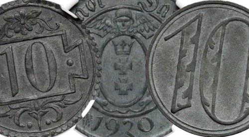 Fascynujące 10 fenigów 1920 Gdańsk – historia, odmiany…
