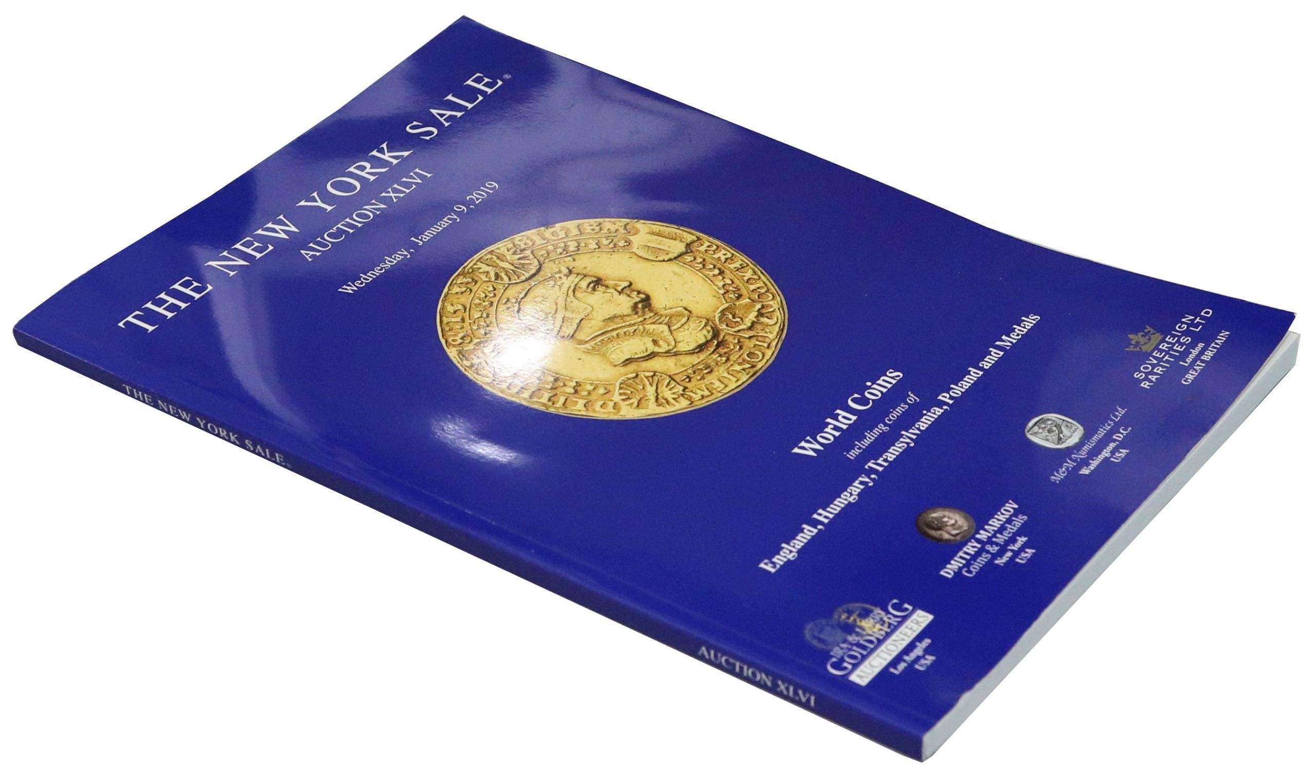 Polskie monety na The New York Sale 2019