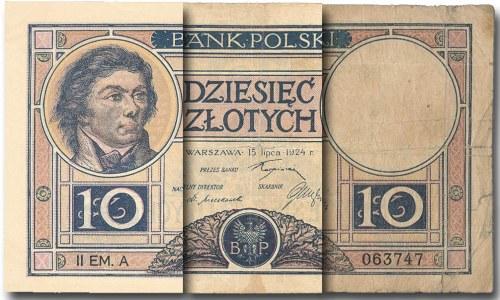 Definicje stanów zachowania banknotów według IBNS