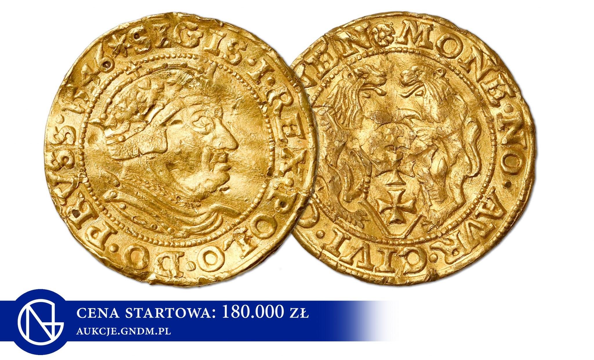 Dlaczego dukaty Zygmunta Starego kosztują setki tysięcy złotych?