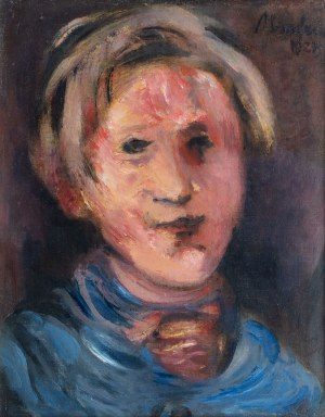 Alfred Aberdam (1894 Lwów – 1963 Paryż), Autoportret, 1927 r.