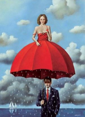 Rafał Olbiński, Red umbrella I