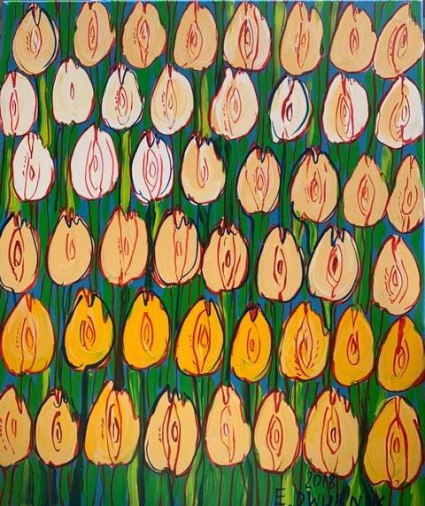 Edward Dwurnik, Żółte Tulipany