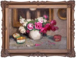 Alfons Karpiński (1875 — 1961), Martwa natura z różami