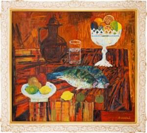 Jan Szancenbach (1928 — 1998), Martwa natura z rybami