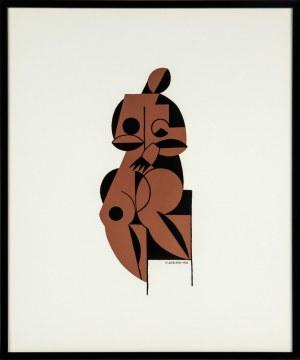 Henryk Berlewi (1894 - 1967), Akt