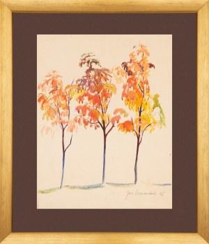 Jan Szancenbach (1928 - 1998), Jesienne drzewa
