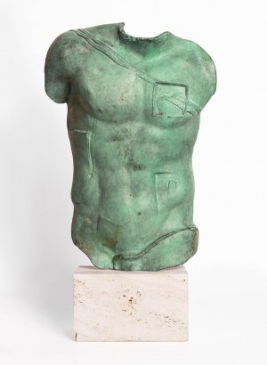 """Igor Mitoraj (1944 - 2014), """"Perseusz"""""""