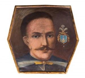 """Artysta Nieznany (XVIII wiek - ), """"Portret trumienny szlachcica herbu Bojarski"""""""