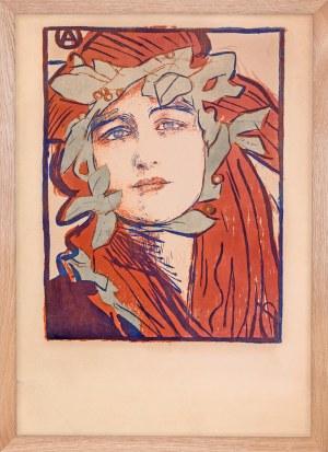 """Teodor Axentowicz (1859 - 1938), """"Plakat II Wystawy Towarzystwa Artystów Polskich Sztuka"""""""