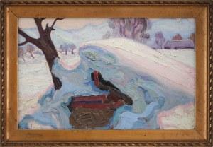 "Emil Krcha (1894 - 1972), ""Polska zima"""