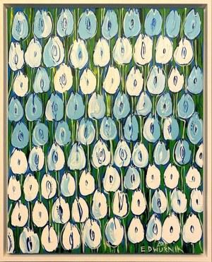 Edward Dwurnik, Błękitne tulipany
