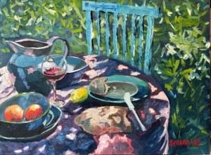 David Schab, Śniadanie w ogrodzie