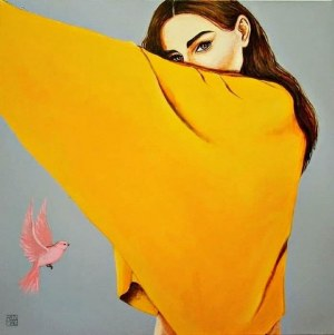 Renata Magda, One look, 2018
