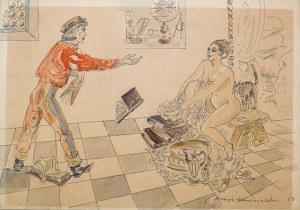 Maja Berezowska, Bez tytułu 2, 1955