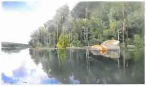 Michał Suffczyński, Jezioro w Dalarna