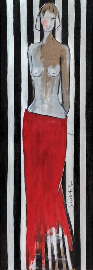 Joanna Sarapata, Czerwona sukienka