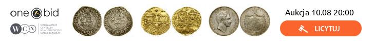 aukcja monet