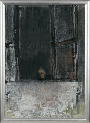 Sienicki Jacek, BEZ TYTUŁU (GŁOWA W OKNIE), 1999