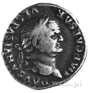 denar, Aw: Popiersie w wieńcu na głowie w prawo i napis...