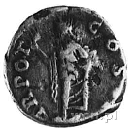 denar, Aw: Popiersie w prawo i napis: L.AELIVS CAESAR, ...