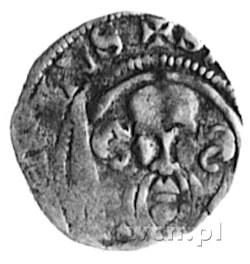 Otto III 1383-1428, Bassum, denar, Aw: Głowa św. Pawła ...