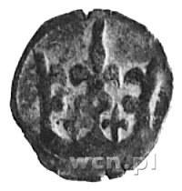 denar, Aw: Rozwidlona korona, Rw: Orzeł, Kop.31,1,1,2 -...