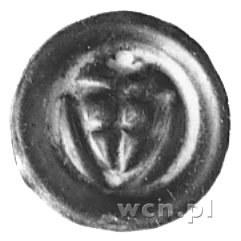 brakteat: Tarcza krzyżacka, powyżej krzyż, Vos.46