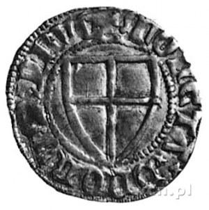 Konrad III von Jungingen (1393-1407), szeląg, Aw: Tarcz...
