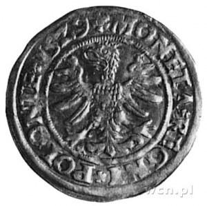 grosz 1529, Kraków, j.w., Gum.484, Kurp.49 R