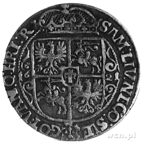 ort 1621, Bydgoszcz, Aw: Popiersie, niżej cyfra 16 i na...