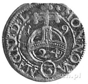półtorak 1619, Wilno, Aw: Tarcza herbowa i napis, Rw: J...