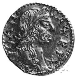 1/2 dukata 1665, Wilno, Aw: Popiersie i napis, Rw: Pogo...