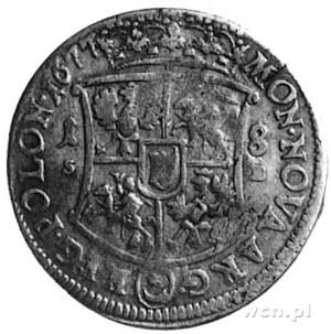 ort 1677, Bydgoszcz, Aw: Popiersie i napis, Rw: Tarcza ...