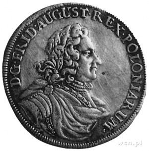 gulden 1704, Drezno, Aw: Popiersie i napis, Rw: Tarcze ...