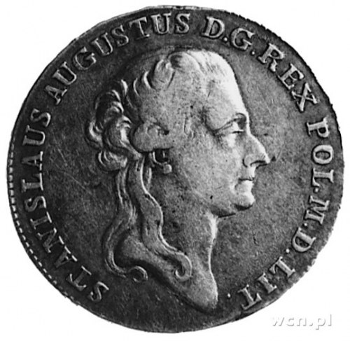 półtalar 1788, Warszawa, j.w., Plage 371