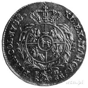 dwuzłotówka 1783, Warszawa, j.w., Plage 335